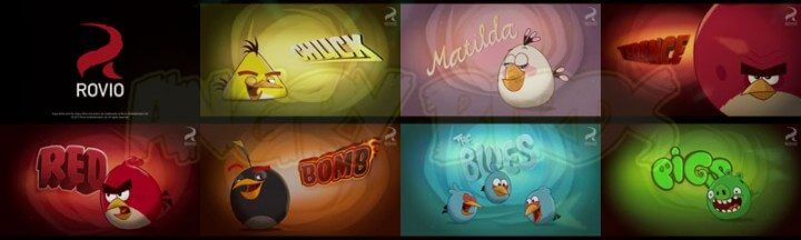 abirds personagens 720x216 - Angry Birds Toons, o mais popular dos jogos mobile vira cartoon