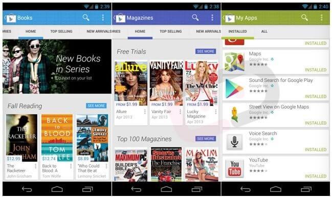 google play - Novidades em breve no Google Play