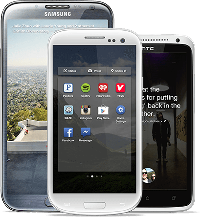 Android galaxy s3 facebook home