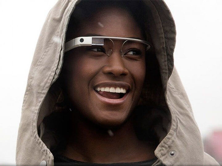Modelo utilizando o Google Glass Explorer Edition
