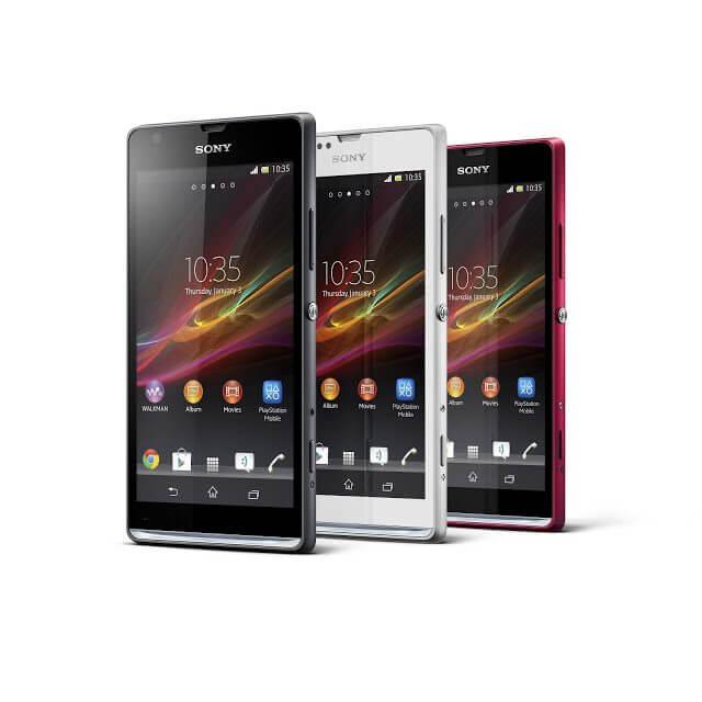 15 Xperia SP Range - Sony lança tablet Xperia Z, dois novos smartphones e Xperia ZQ Branco no Brasil