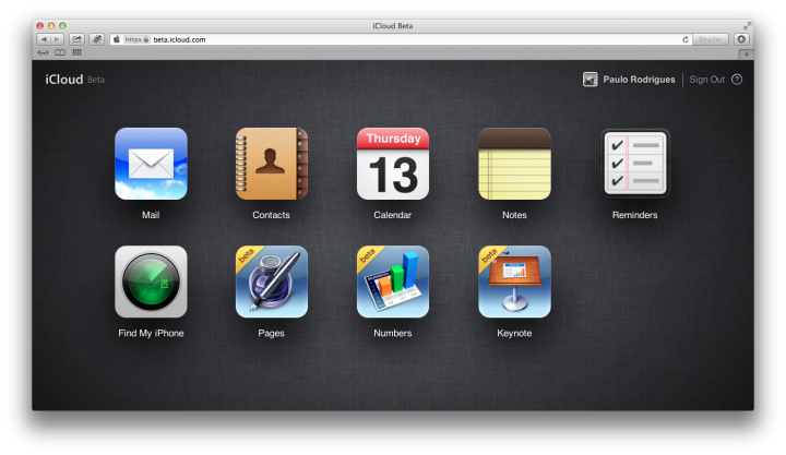 "Screen Shot 2013 06 13 at 4.05.27 PM 720x417 - Apple libera ""iWork for iCloud"" para desenvolvedores"