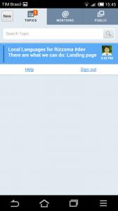 """Screenshot 2013 06 27 15 45 34 168x300 - Rizzoma: evolução do """"Google Wave"""" chega ao Android"""