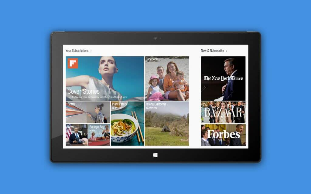 flipboard windows - Facebook, Flipboard, Foursquare, entre outros, são anunciados para Windows 8