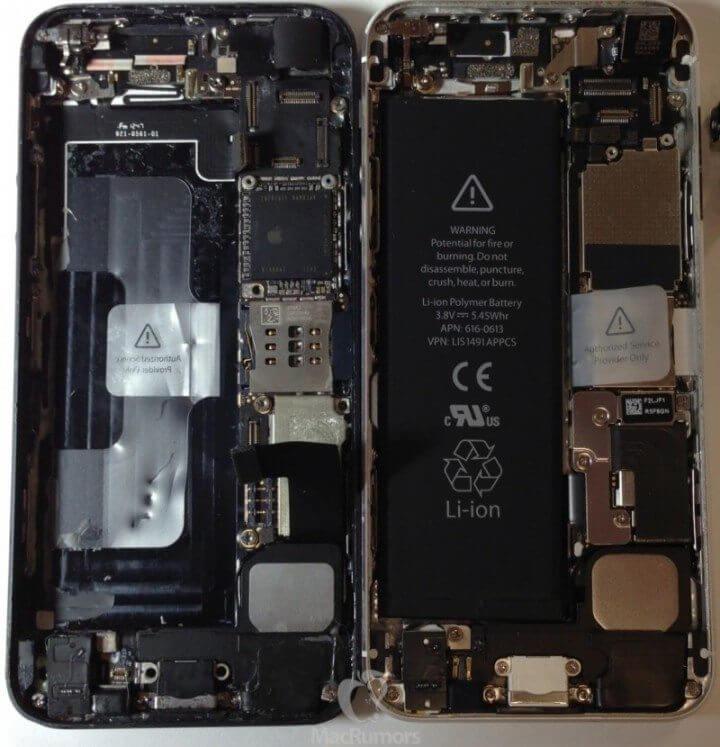 iphone 5S 5 side by side 800x830 720x747 - Novos rumores (e fotos) indicam como pode ser o próximo iPhone