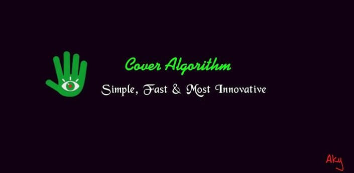 Cover Algorithm Folder - Cover Algorithm: Ligue e Desligue a Tela Automaticamente