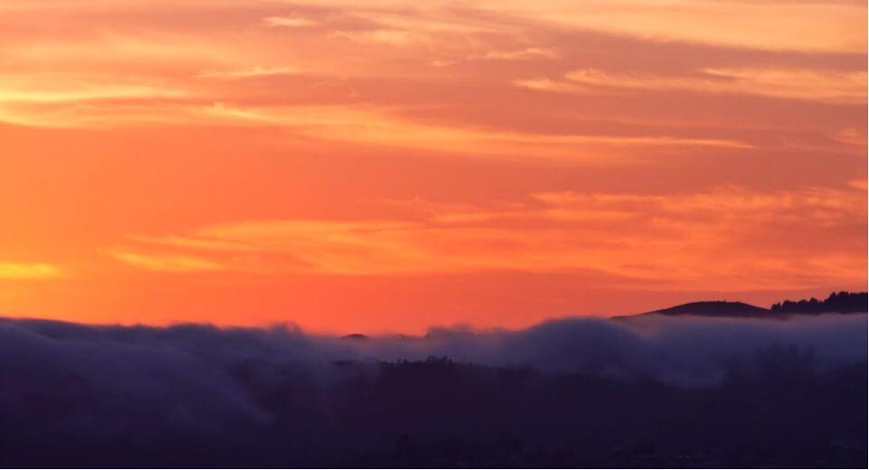Fog Sfo - O nevoeiro em São Francisco em um vídeo incrível