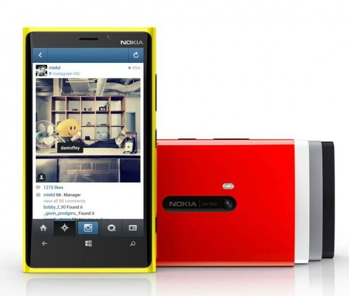 nokia lumia instagram 720x612 - Instagram elimina fotos publicadas via Windows Phone