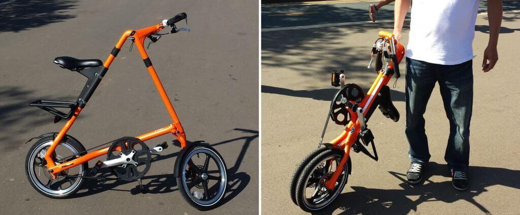 Bicicleta Strida Henri Karam - Exposição traz ao Brasil produtos inovadores de Taiwan