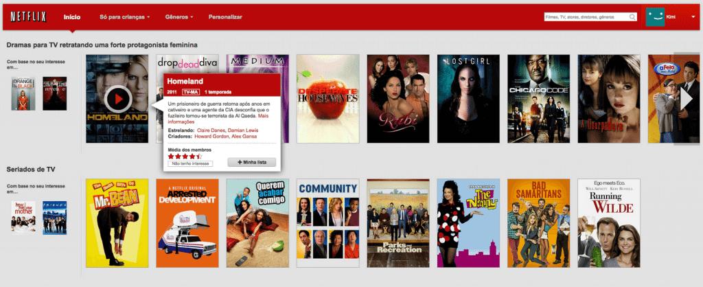 """Netflix apresenta função """"minha lista"""""""