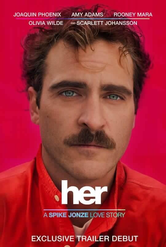 """Her poster - """"Her"""" - Filme contará história de homem apaixonado por sistema operacional"""