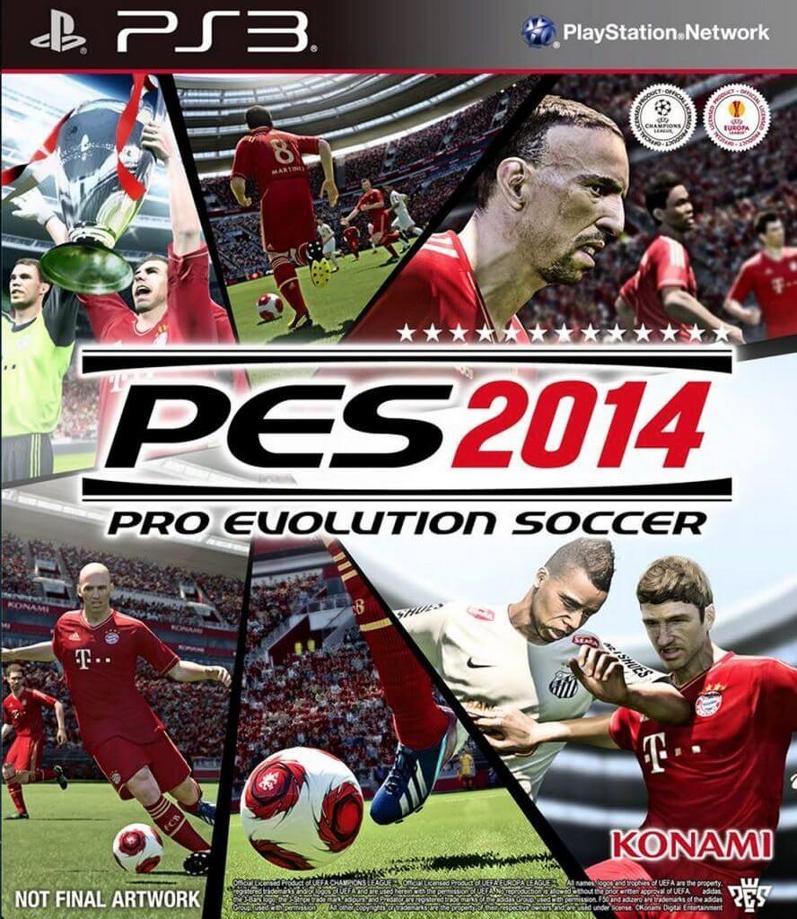 Konami faz pré venda do Pro Evolution Soccer 2014 - Konami faz pré-venda do Pro Evolution Soccer 2014