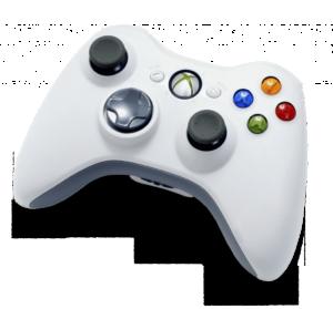 Xbox 360 white wireless controller 300x279 - Joystick do Xbox 360 (e outros dispositivos USB) diminuindo o volume do Windows? Saiba como solucionar esse problema!