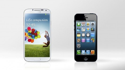 iphone 5 vs gs4 - Comparativo: iPhone 5 x Galaxy S4