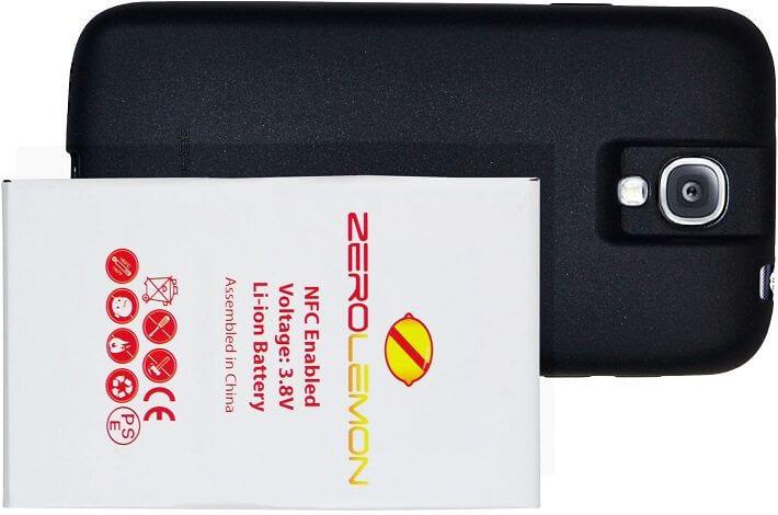 zerolemon 7500mah s4 - Review: Bateria ZeroLemon de 7.500mAh para o Samsung Galaxy S4