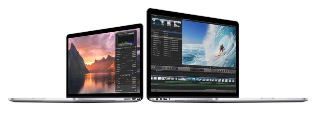 Novo macbook pro agora com tela retina