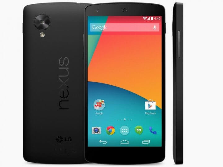 Google começa as vendas do Nexus 5, primeiro smartphone com o Android 4.4 (Kitkat)