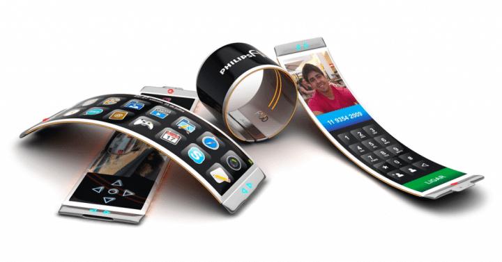 philips fluid oled curved smartphone dinard da mata celular tela curvada 3 720x377 - Fluid: um smartphone com tela OLED em forma de bracelete