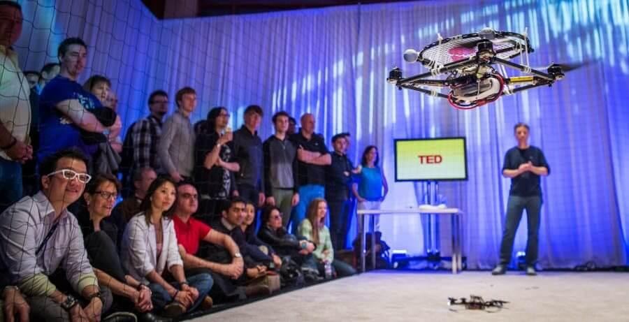 quadcopteros robos robots quadcopters ted talks Raffaello D'Andrea