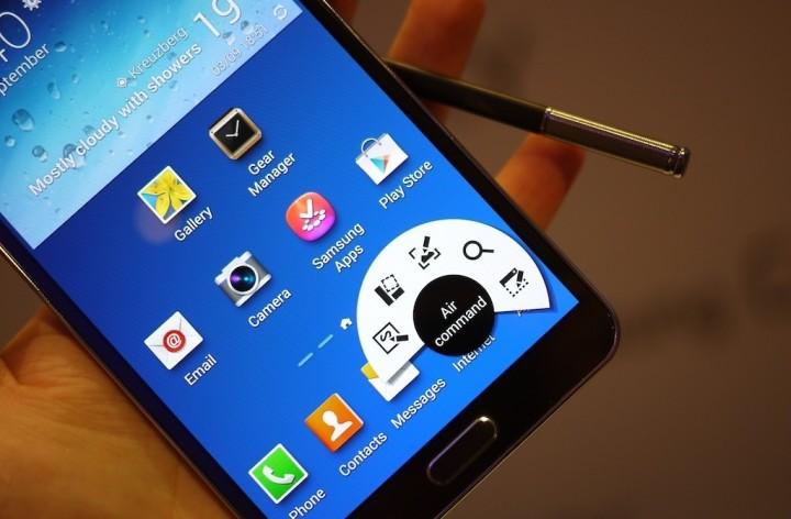 Aplicativos o Galaxy Note 3 são portados para o Galaxy S4: