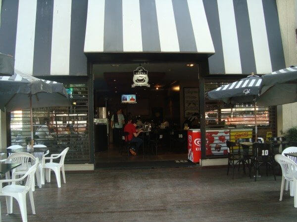 No Pelé Arena Café aceita pagamento via celular
