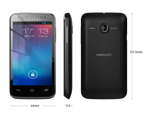 Alcatel One Touch M Pop OT5020E 184 - Review: smartphone Alcatel One Touch M'Pop (OT 5020E)