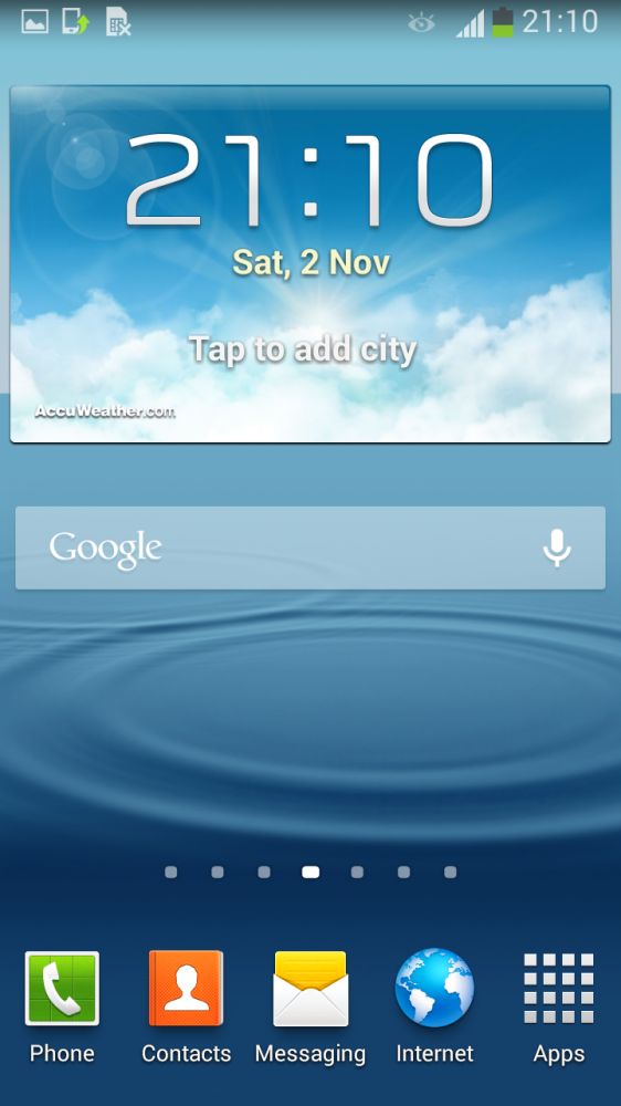Android 4.3 Jelly Bean Galaxy S III gt-i9300 S3 (2)