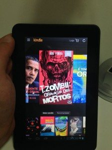 Alcatel OneTouch Evo 7 - Kindle 1