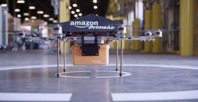 Amazon Prime Air Drone - Amazon quer usar drones para fazer entregas