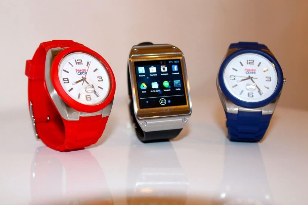 Smartwatches facilitam a vida