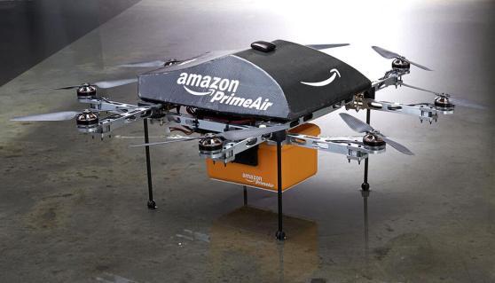 amazon prime air - Amazon quer usar drones para fazer entregas