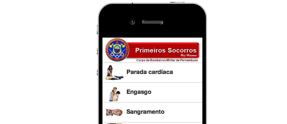 App para ajudar nos Primeiros Socorros