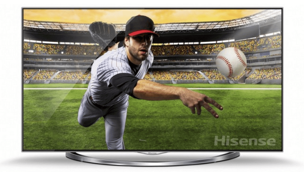 TV Ultra HD (4K) da Hisense / reprodução