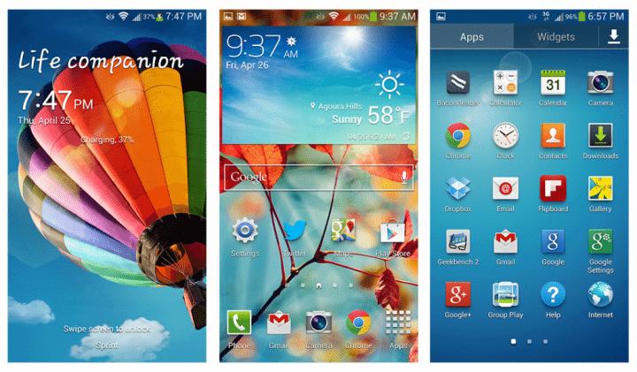 Samsung TouchWiz 2013