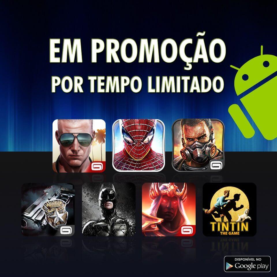 Gameloft faz promoção de jogos por r$ 2,36