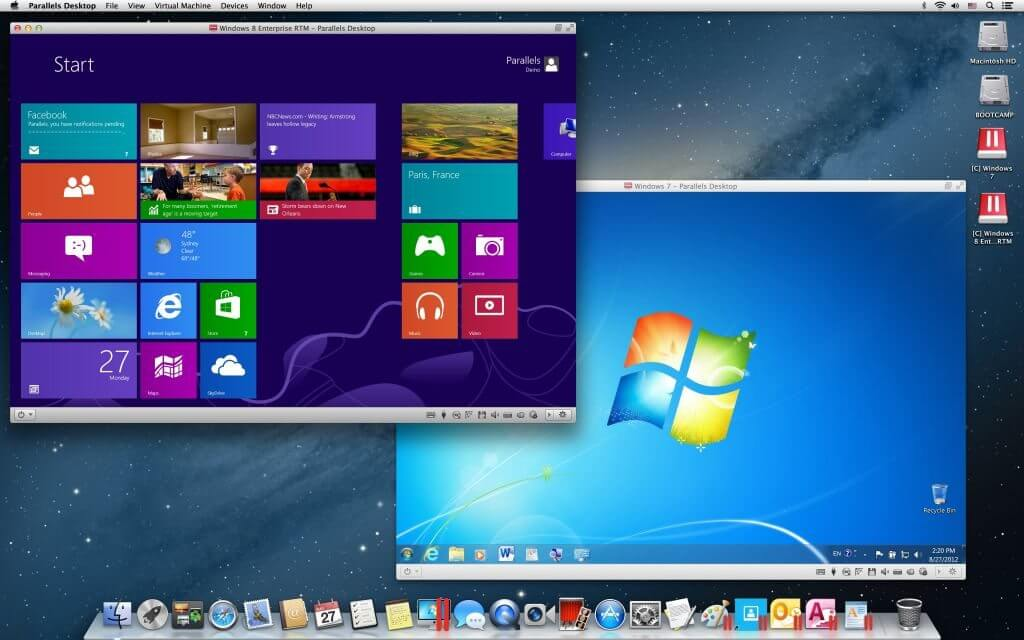 Windows Mac Parallels