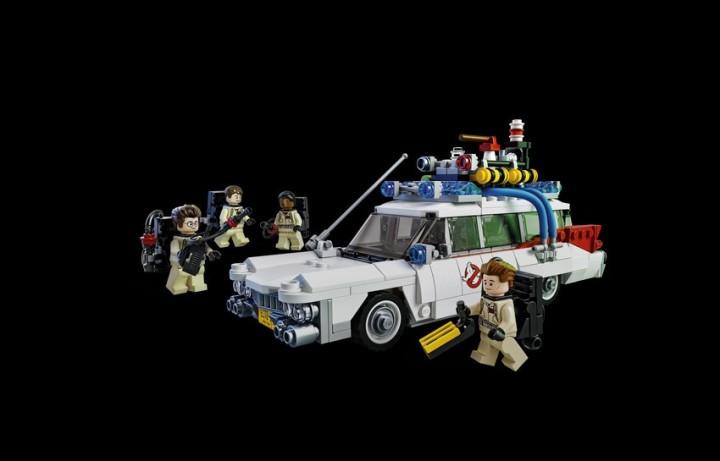 Vazam as primeiras imagens do kit da lego homenageando o filme ghostbusters