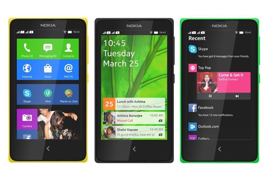 smartphone Nokia X