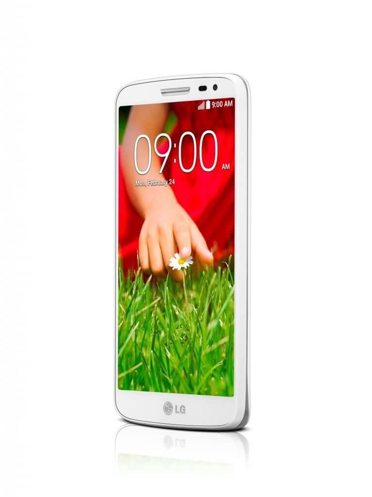 LG G2 Mini Branco frente2 - LG G2 Mini chega em maio com versões dual-sim 3G e 4G