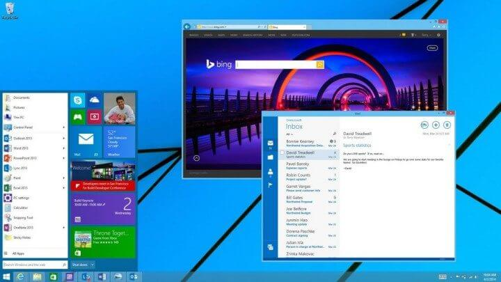 Windows 8.1 Menu Iniciar Apps Metro em janelas