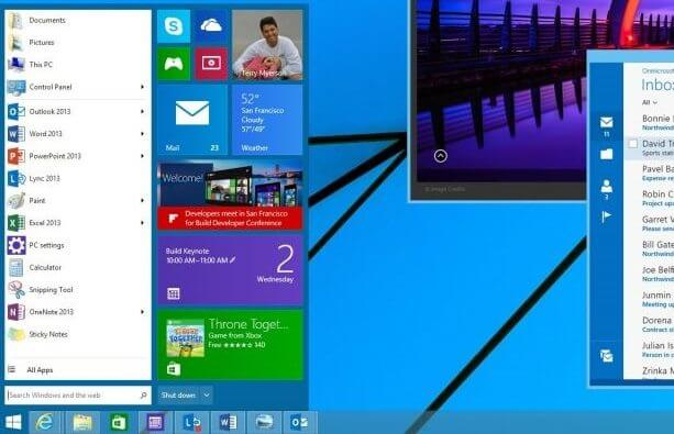 Start Menu WIndows 8