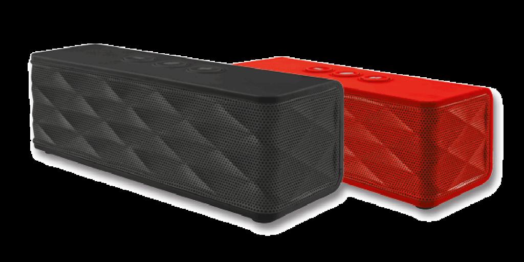 215712 382125 caixa de som   jukebar wireless speaker   preta e vermelha 2 - Review: caixa de som portátil Jukebar