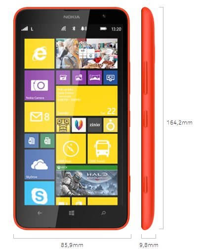 Review Lumia 1320 Showmetech