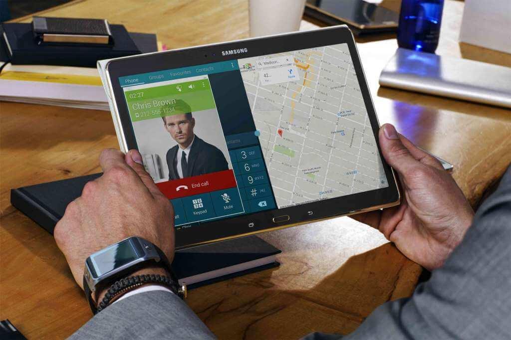 GALAXY Tab S Display 031 - Galaxy Tab S: Samsung tenta incomodar a Apple