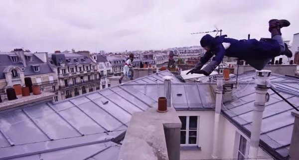 Assassin s Creed real 2 - Incrível! Grupo de parkour simula Assassin's Creed pelas ruas de Paris