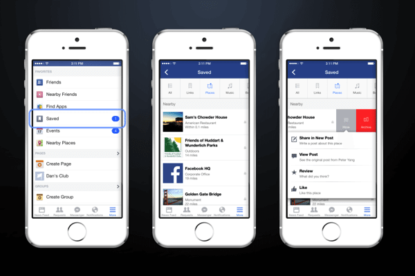 Facebook Save 2 - Facebook lança função de salvar para ver depois no Android e iOS