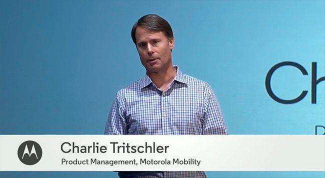 charlie tritschler motorola - Charlie Tritschler é novo chefe de produtos Motorola