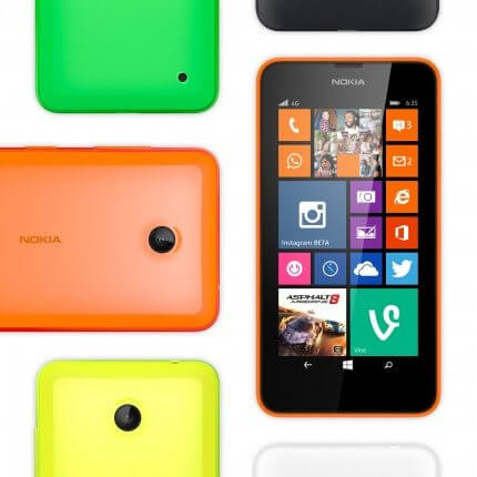 lumia 635 smartphone 4g por r 5991 - Lumia 635, smartphone 4G por R$ 599