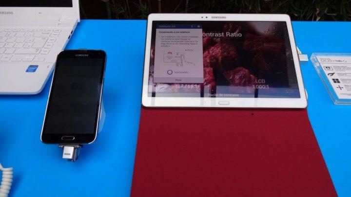 samsung galaxy tab s smt 07 720x405 - Samsung lança nova linha de tablets Galaxy Tab S no Brasil