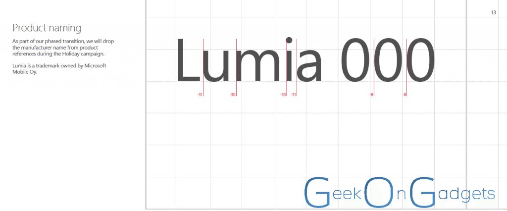 lumia branding - Microsoft vai acabar com as marcas Nokia e Windows Phone